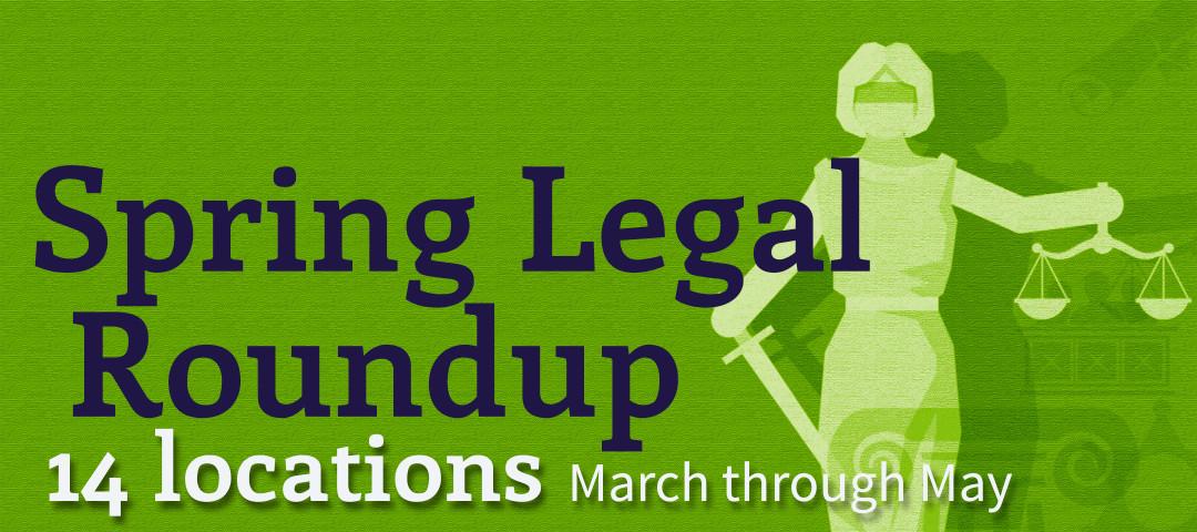 Spring Legal Roundup