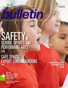 thumbnail image April Bulletin cover