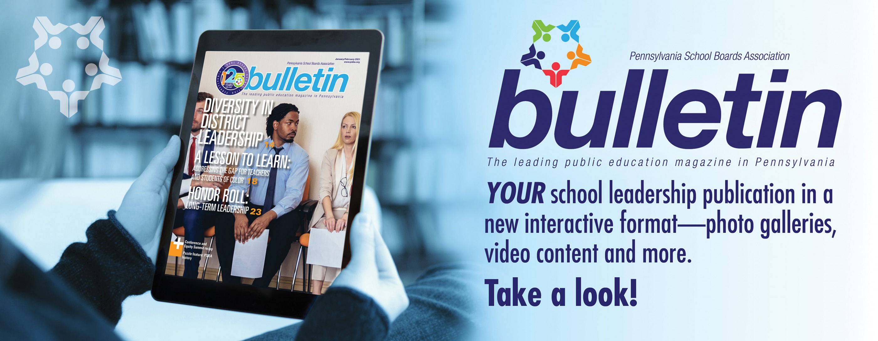 Interact with the Bulletin magazine