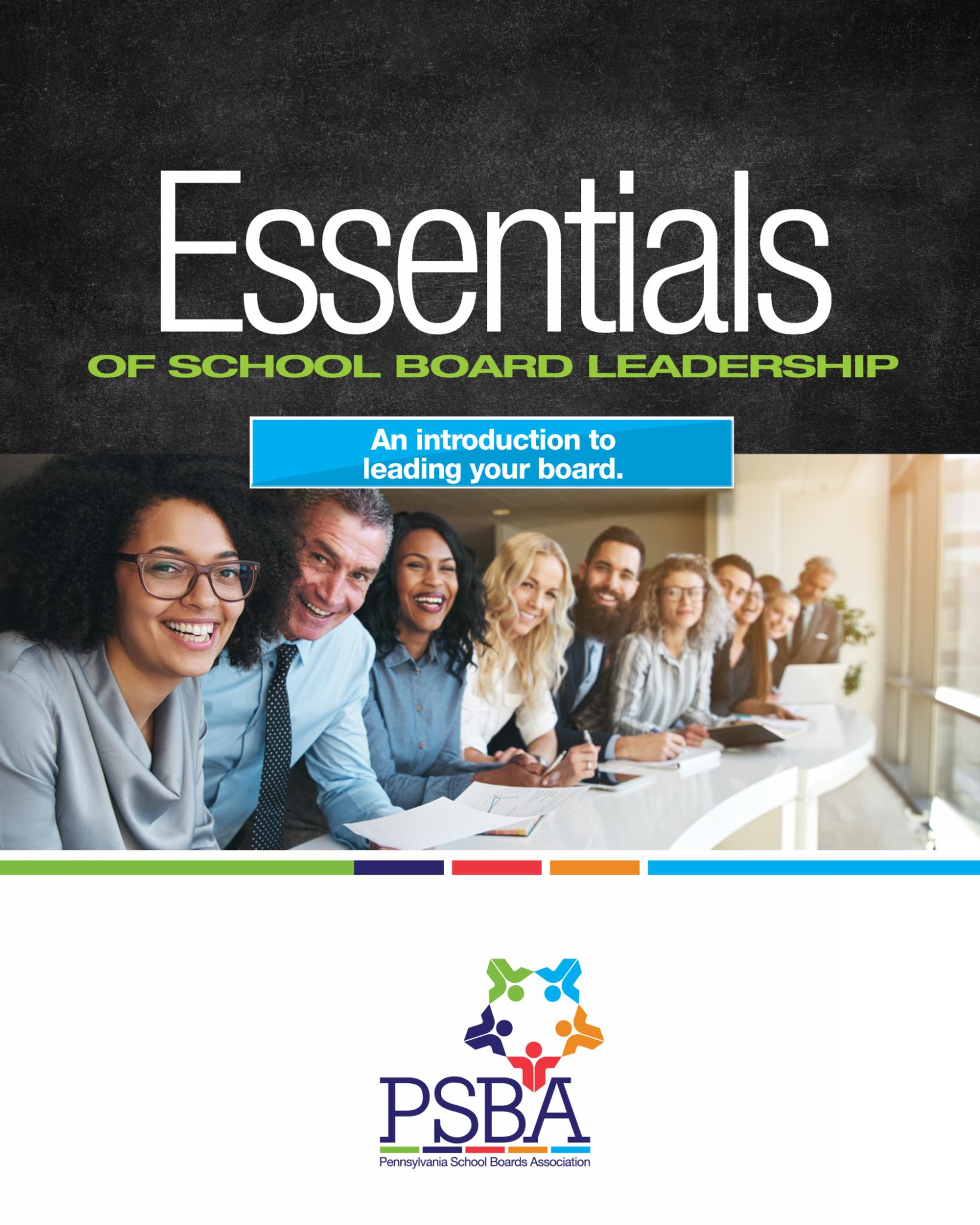 Essentials of School Board Leadership cover