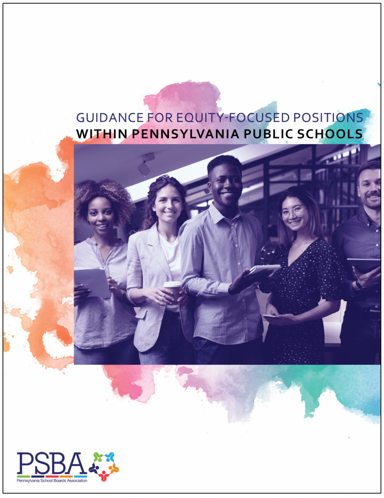 Guidance for equity-focused positions within PA public schools