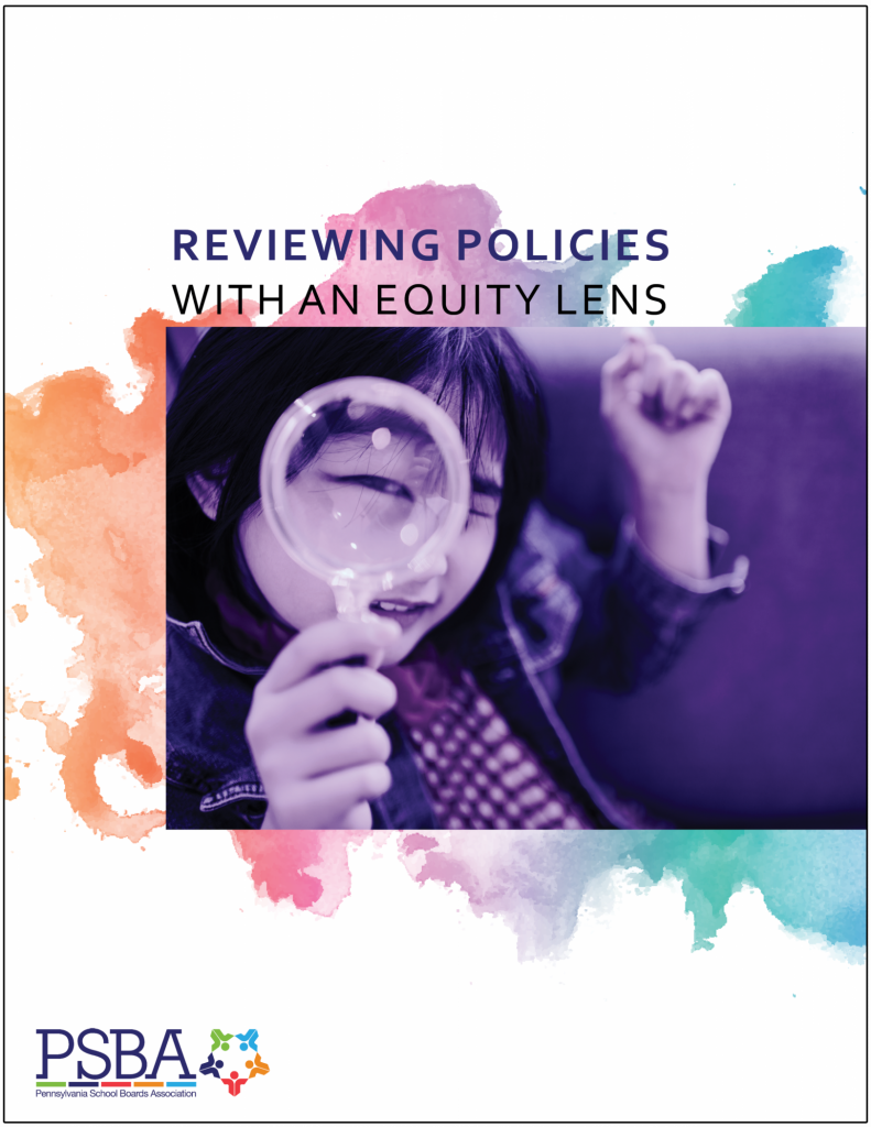 Reviewing policies with an equity lens