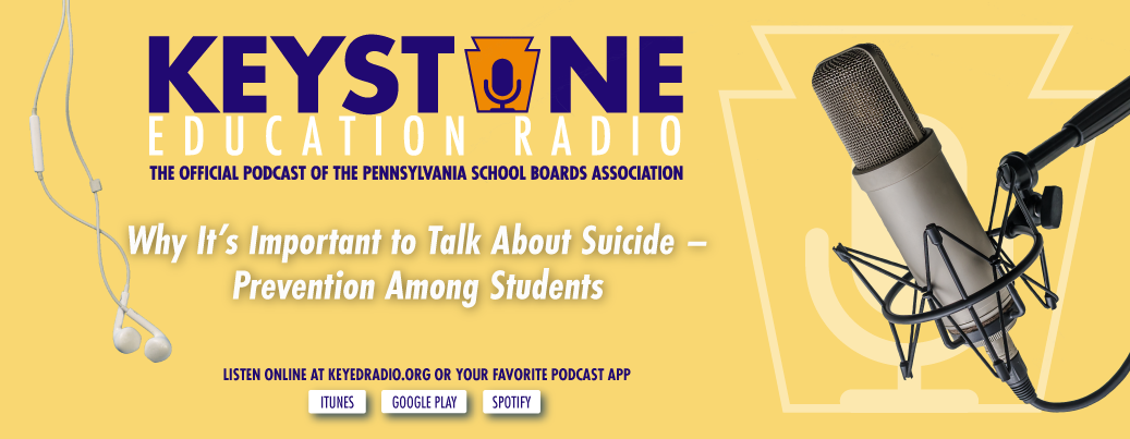 Podcast available: Why It's Important to Talk About Suicide – Prevention Among Students
