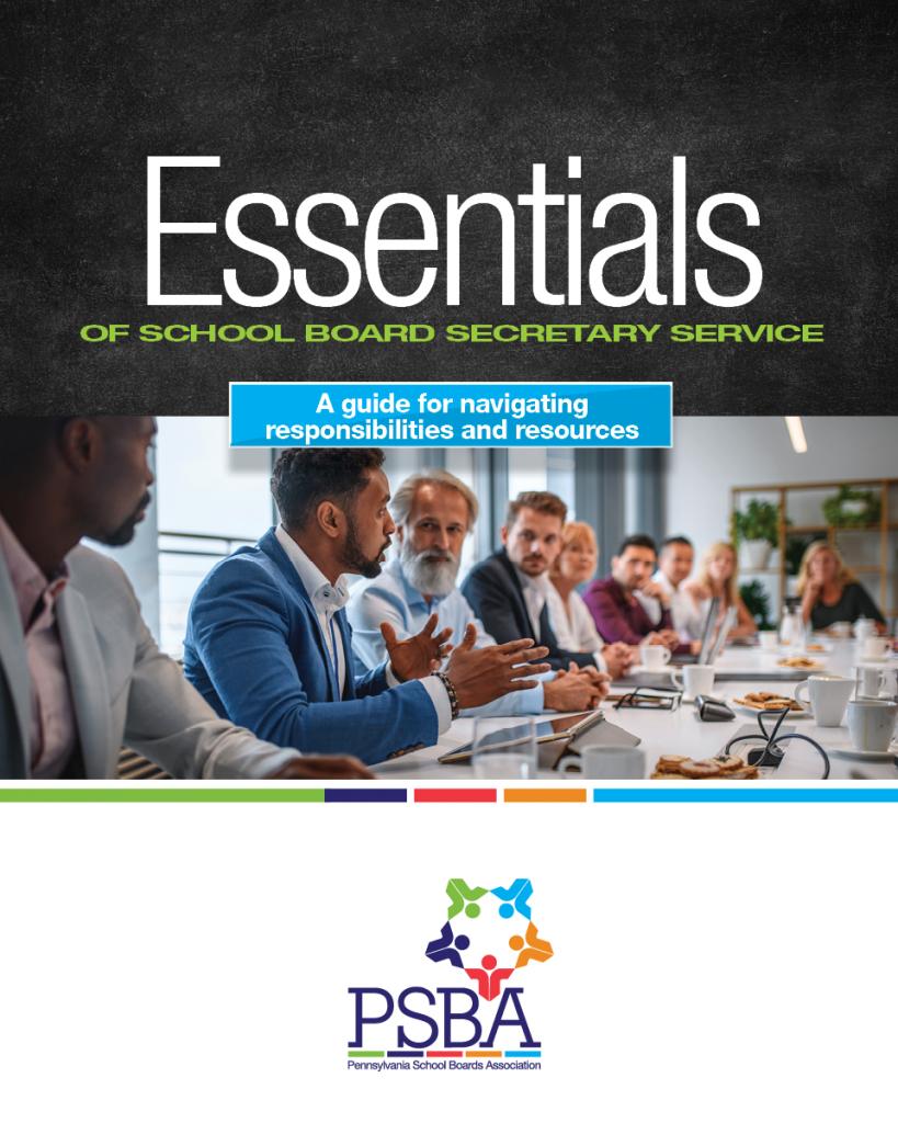 Essentials of School Board Secretary Service Cover