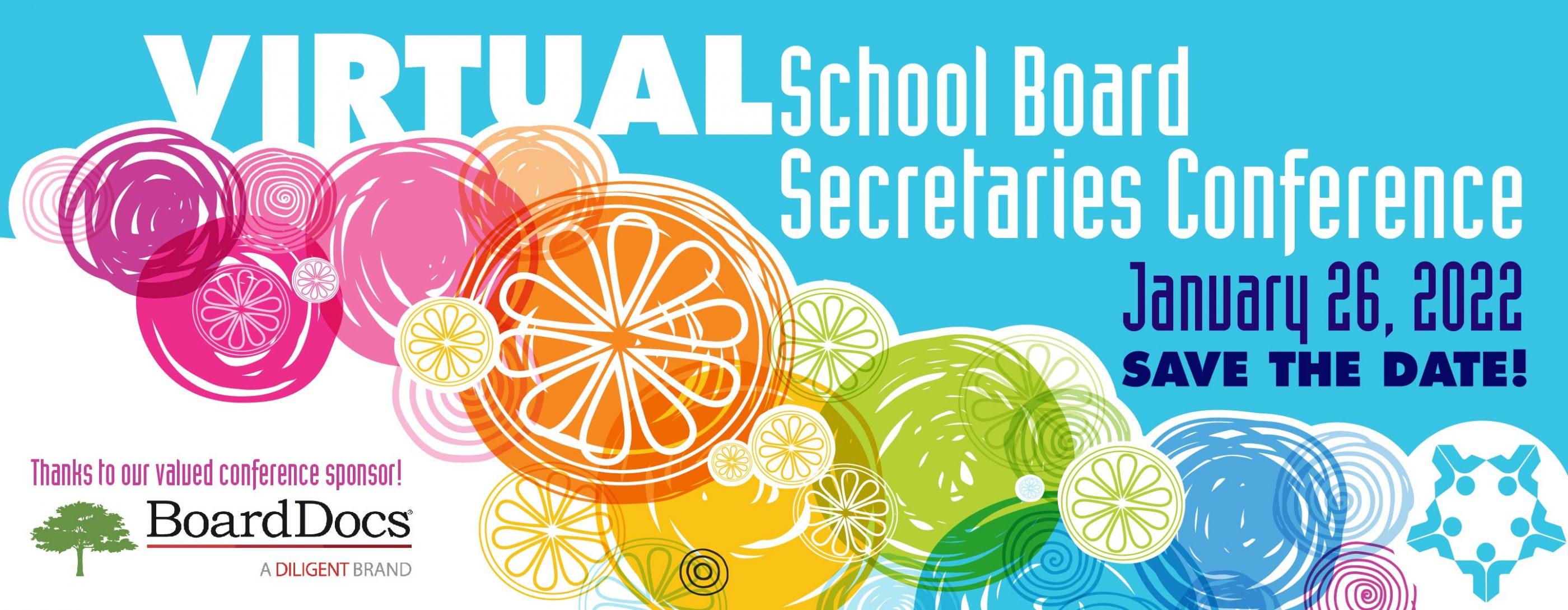 Save the date: School Board Secretaries conference